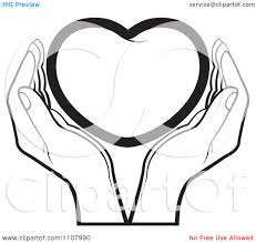 clipart black and white hands clipart panda free clipart images