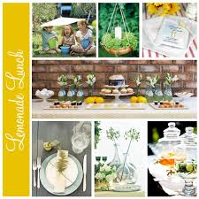 lemonade spring lunch party ideas spring pinterest colors