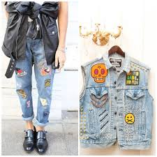 Famosos Trend Verão 2016: Jeans & Patches | It Yourself #ZX05