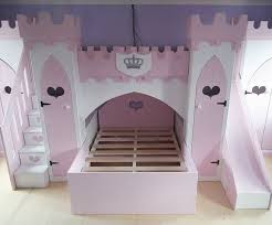 Princess Bunk Bed With Slide Children S Princess Castle Bunk Bed With Slide Stairs Wardrobes