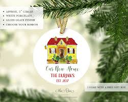 new home ornament personalized ornament new