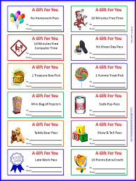 classroom behavior ticket template out these colorful