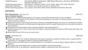 sample resume software developer resume sample for a senior