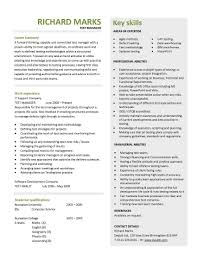 Two Page Resume Template Chronological Resume Sample 2 Two Page Resume Format Example
