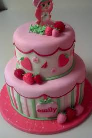 birthday cakes images beautiful pink little girls birthday cakes
