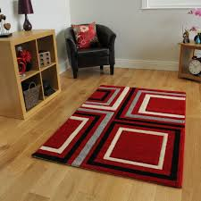 Large Modern Rug by Grey And Red Rug Uk Creative Rugs Decoration