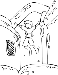 bouncy house coloring page handipoints