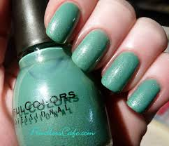 day 2 of sinful colors swatch fest mint apple pointless cafe