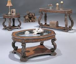 north shore coffee table antique cherry traditional coffee table with glass inlays