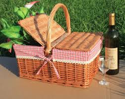 personalized basket picnic basket etsy