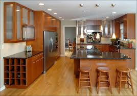 kitchen what color to paint kitchen cherry cabinets with quartz