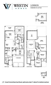 westin homes london floor plan