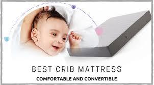 What Type Of Crib Mattress Is Best Comfortable And Convertible Mattresses Moonlight Slumber