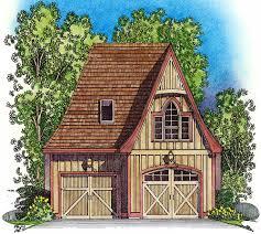 plan 43038pf picturesque stick style garage