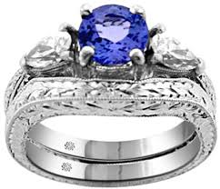 tanzanite wedding rings carat tanzanite platinum antique style ring wedding band