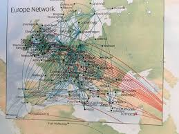Condor Airlines Route Map by The Timetablist Etihad Route Map September 2016 Europe