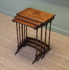 small nest of tables antique nest of tables antiques world