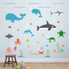 7 creative under the sea nursery decor ideas the toddle under the sea wall decals