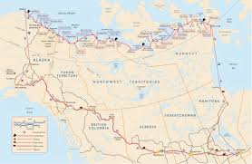 Air Canada Route Map by Pam Flowers Expeditions Route Map