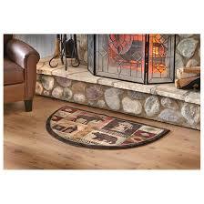mohawk lodge hearth rug 233354 rugs at sportsman u0027s guide