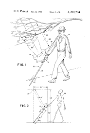Blind People Canes Patent Us4280204 Mobility Cane For The Blind Incorporating