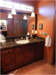 did you know you can frame your big plain bathroom mirror before