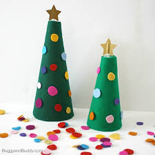 decorate the felt christmas tree activity for kids buggy and buddy