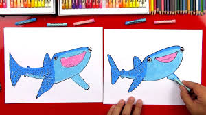 how to draw destiny from finding dory art for kids hub