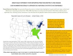 Lyme Map Tick Borne Disease Blog Georgia Lyme Disease Association