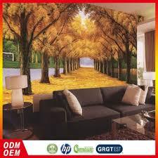 3d home decor design custom 3d golden forest wallpaper design home decor for sofa back