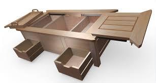 Table De Salon Industrielle by Table Basse De Salon Qui Fait Bar U2013 Ezooq Com