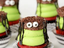 Spider Halloween Cakes by Oreo Spider Cupcakes Confessions Of A Cookbook Queen