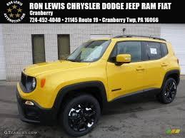 purple jeep renegade 2017 solar yellow jeep renegade altitude 4x4 117705684 gtcarlot