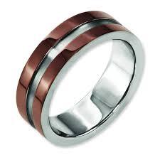 chocolate wedding rings 15 ideas of chocolate wedding bands