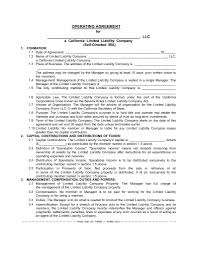 Sample Investment Agreement The Sdira Llc Operating Agreement U2013 Boilerplate For Your Client U0027s