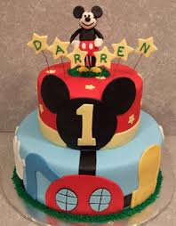 mickey mouse 1st birthday cake images best images collections hd