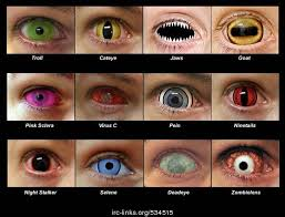halloween i want this color contacts by l xandria makeup skin