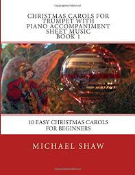 carols for trumpet with piano accompaniment