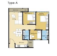setia walk floor plan residences