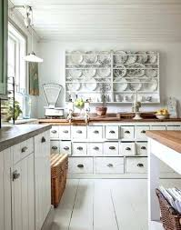 Shabby Chic Wall Cabinets by Whie Washed Kitchen Cabinets Via Hometalk Shabby Chic Kitchen