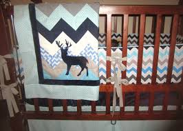 Deer Crib Bedding Baby Nursery Hunting Room Decor Home Design Ideas With Regard To