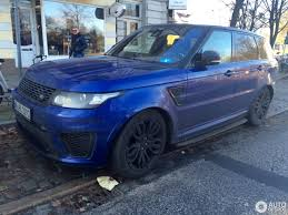 Land Rover Range Rover Sport Svr 17 Sausio 2017 Autogespot