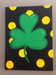 st patricks day kids painting google search canvas ideas