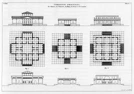 jean nicolas louis durand diagrams pinterest architecture