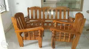 Gorgeous Mysore Teak Wood Sofa Set Direct From Bengaluru - Teak wood sofa sets