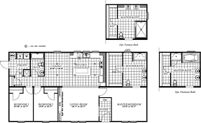 16x80 Mobile Home Floor Plans by Clayton Homes Of Louisville Ky New Homes