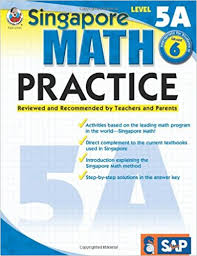 singapore math practice level 5a grade 6 frank
