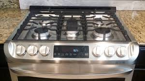 Slide In Gas Cooktop Lg Electronics Gas Slide In Range With Probake Convection