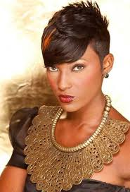 pixie short hair for black women women medium haircut