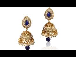 jhumka earring beautiful top 12 south indian jhumka earring designs of